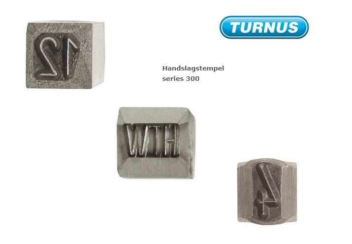 Handslagstempel Speciale tekens Logo | DKMTools - DKM Tools