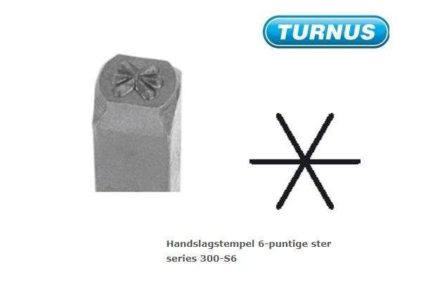 Handslagstempel 6 puntige ster | DKMTools - DKM Tools