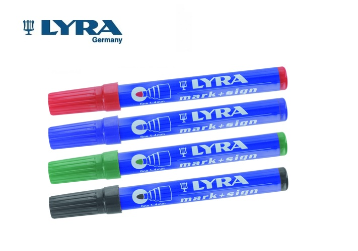 LYRA Merkstift permanent 1-4mm | DKMTools - DKM Tools