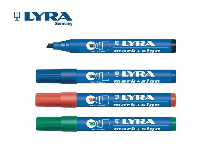 LYRA Merkstift permanent 2-6mm | DKMTools - DKM Tools