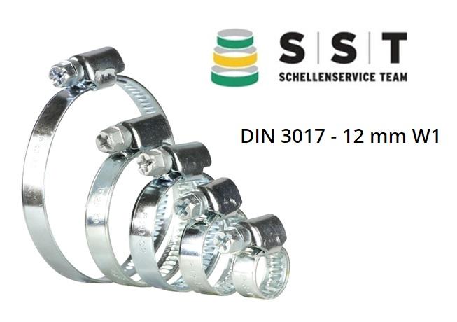 Slangenklemmen W1 12mm DIN 3017 | DKMTools - DKM Tools