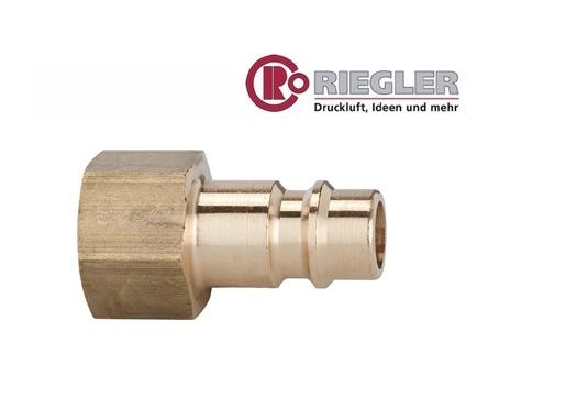 RIEGLER Nippel Binnendraad messing | DKMTools - DKM Tools