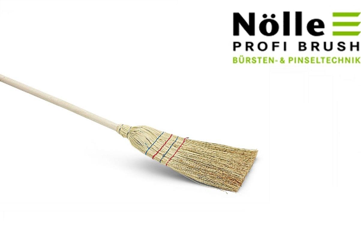 Rijststrobezem 130 cm 4 naads | DKMTools - DKM Tools