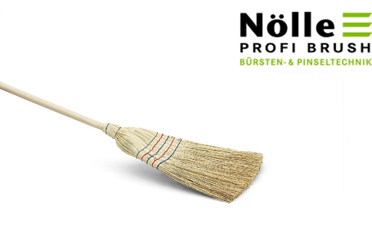 Rijststrobezem 130 cm 5 naads | DKMTools - DKM Tools