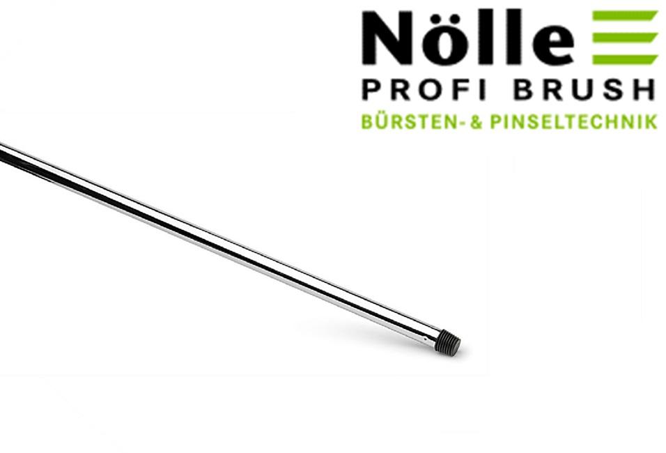 Bezemsteel verchroomd metaal 130 cm | DKMTools - DKM Tools