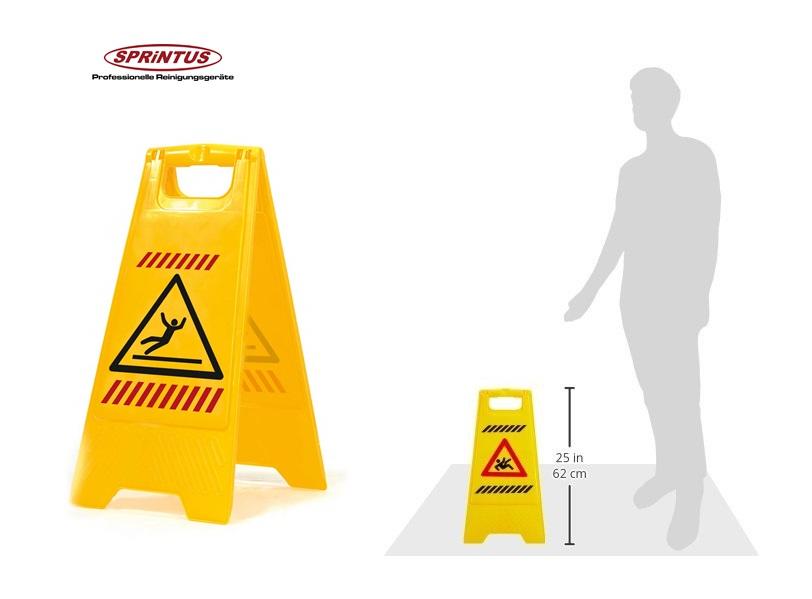 Waarschuwingsbord let op slipgevaar   DKMTools - DKM Tools