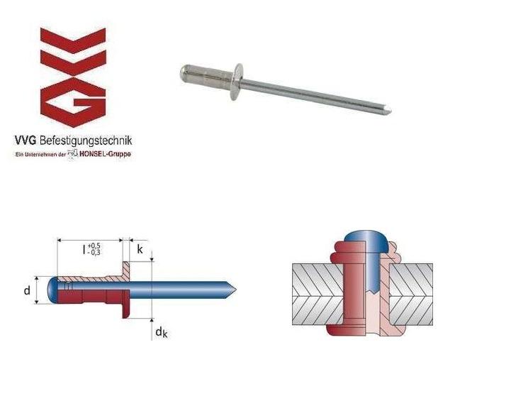 VVG OPTO blindklinknagels met laagbolkop | DKMTools - DKM Tools