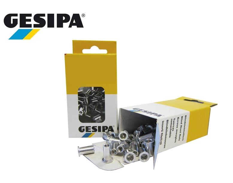 Gesipa blindklinkmoeren met plat-bolkop Klein verp | DKMTools - DKM Tools