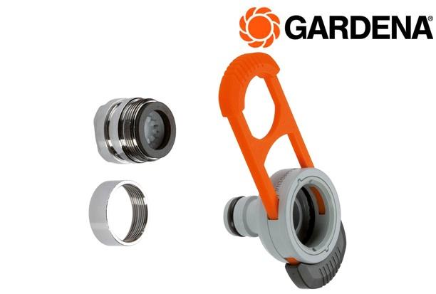 GARDENA 8187 20 Waterkraanadapter binnenshuis | DKMTools - DKM Tools