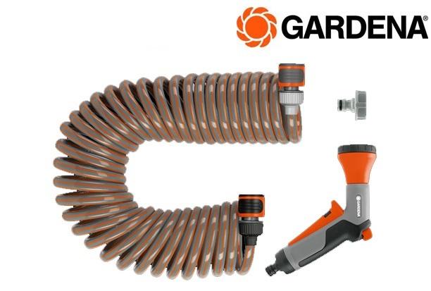 GARDENA 4647 20 Spiraalslangset+slang 10m | DKMTools - DKM Tools