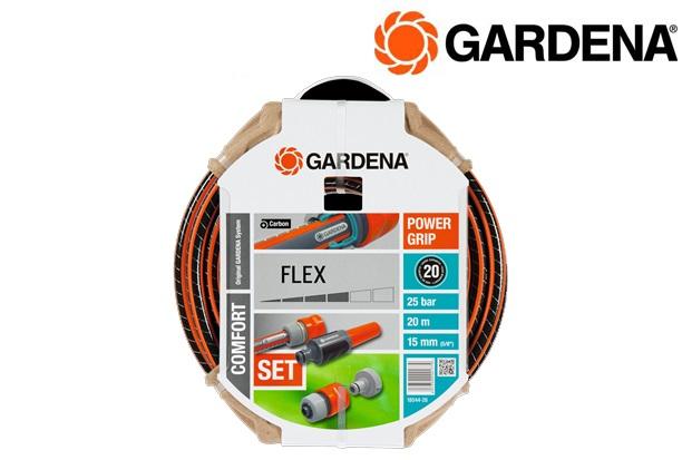 GARDENA 18044 26 Flex slang 58, 20m + armaturen | DKMTools - DKM Tools