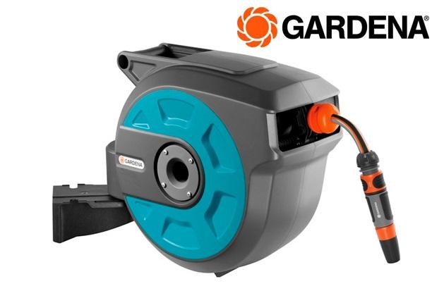 GARDENA 8022 20 Wand slangenbox roll up auto 15m | DKMTools - DKM Tools