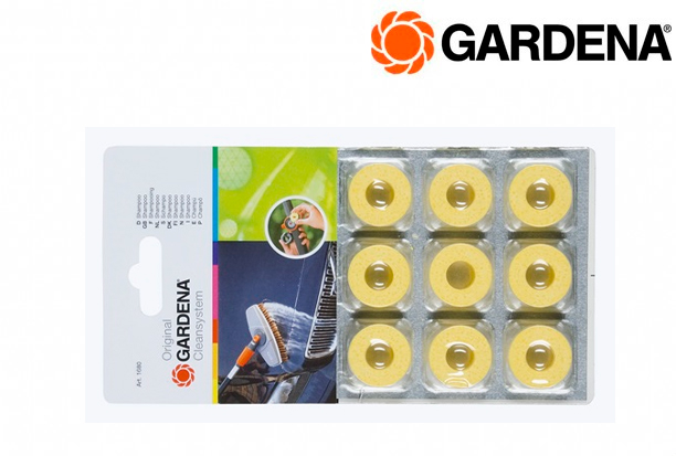 GARDENA 1680 20 Shampoo capsules 9st | DKMTools - DKM Tools