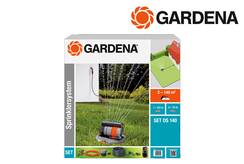 GARDENA 8221 20 Verzonken zwenkspr.set OS140 | DKMTools - DKM Tools