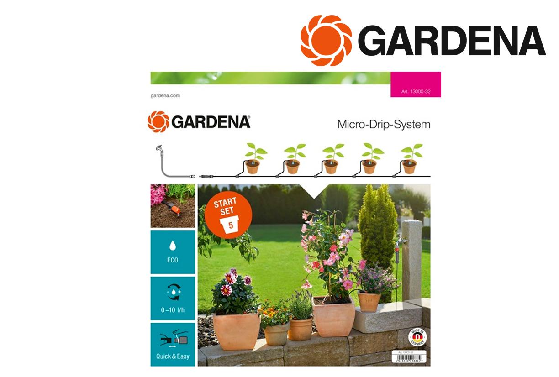 GARDENA 13000 32 Start Set terrasbalkon | DKMTools - DKM Tools