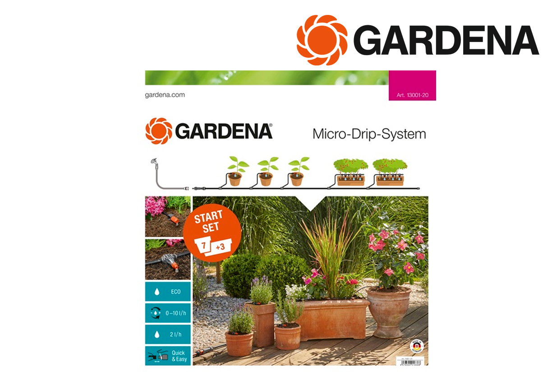 GARDENA 13001 20 Start Set terrasbalkon | DKMTools - DKM Tools