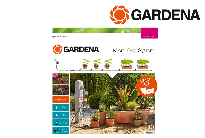 GARDENA 13002 20 Start Set terrasbalkon autom. | DKMTools - DKM Tools