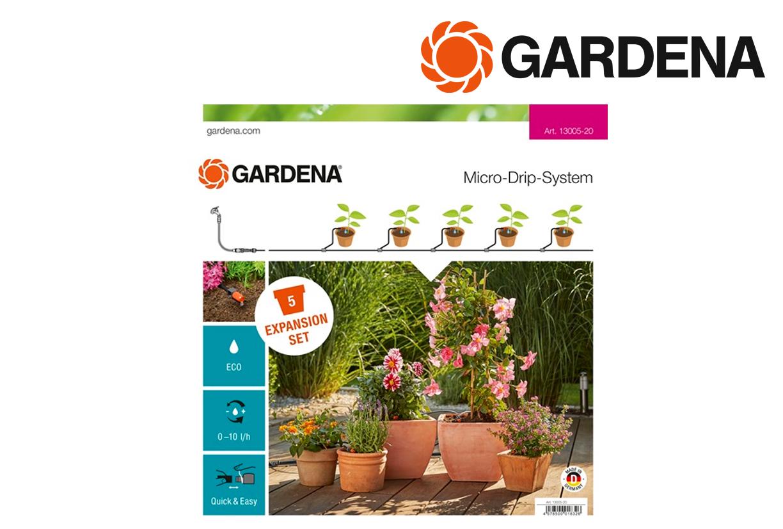GARDENA 13005 20 Uitbreidingsset terrasbalkon | DKMTools - DKM Tools