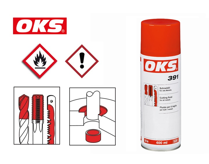 OKS Snijolie Spray 400 ML | DKMTools - DKM Tools