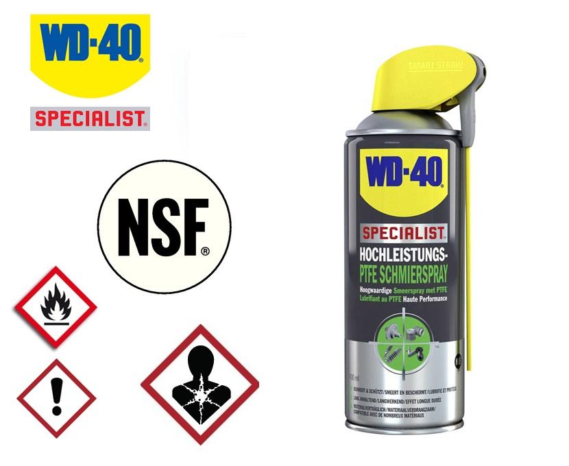 WD-40 Smeerspray met PFTE | DKMTools - DKM Tools