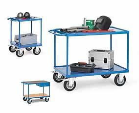 Verrijdbare gereedschapstrolley RAU | DKMTools - DKM Tools