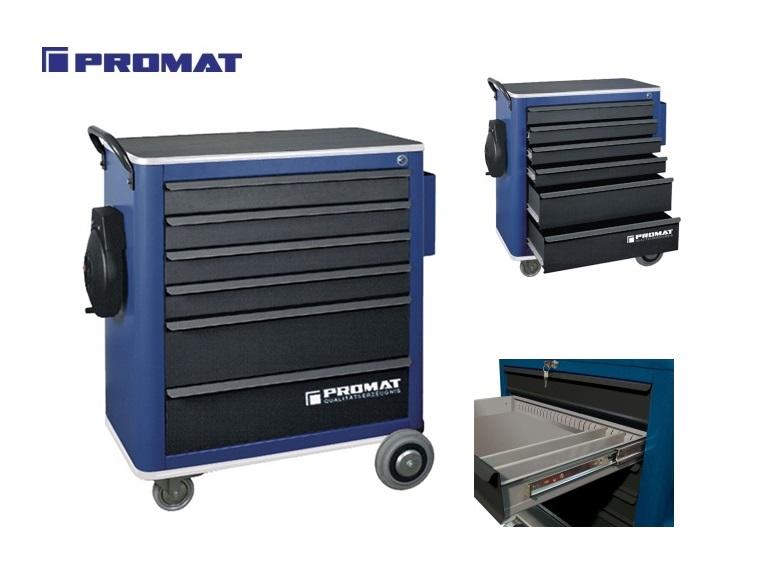 Gereedschapswagen 6 lades Promat | DKMTools - DKM Tools
