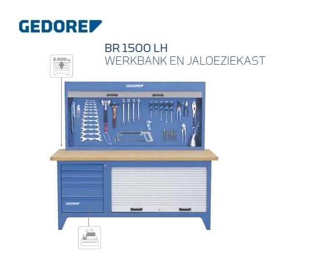 Gedore BR 1500 LH.Jaloeziekast | DKMTools - DKM Tools