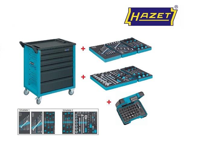 Hazet Gereedschapwagen set 177-6-121   DKMTools - DKM Tools