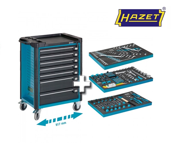 Hazet Gereedschapwagen set 179-7-141 | DKMTools - DKM Tools