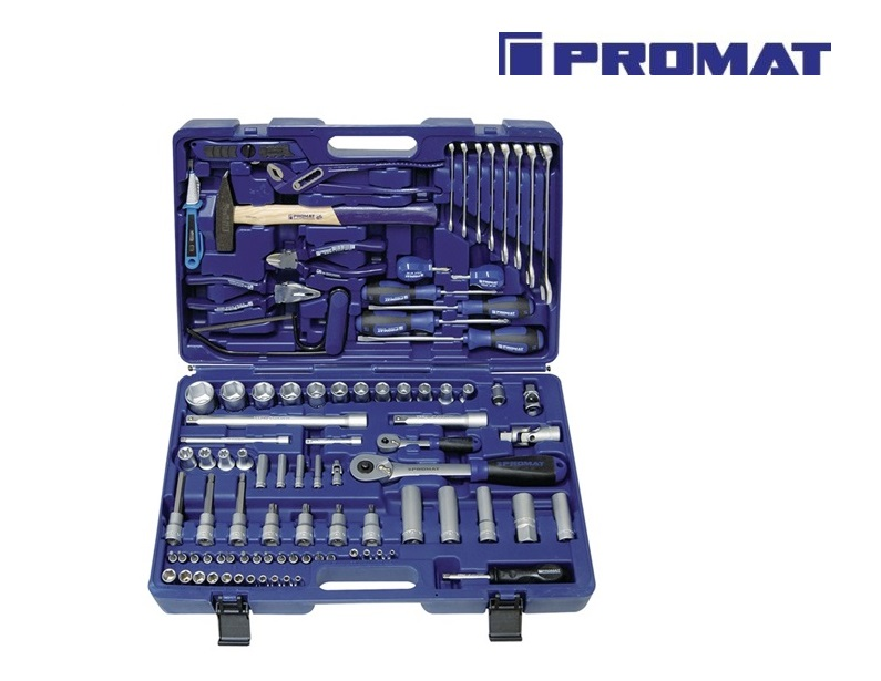 Gereedschapsset in koffer 93-delig | DKMTools - DKM Tools