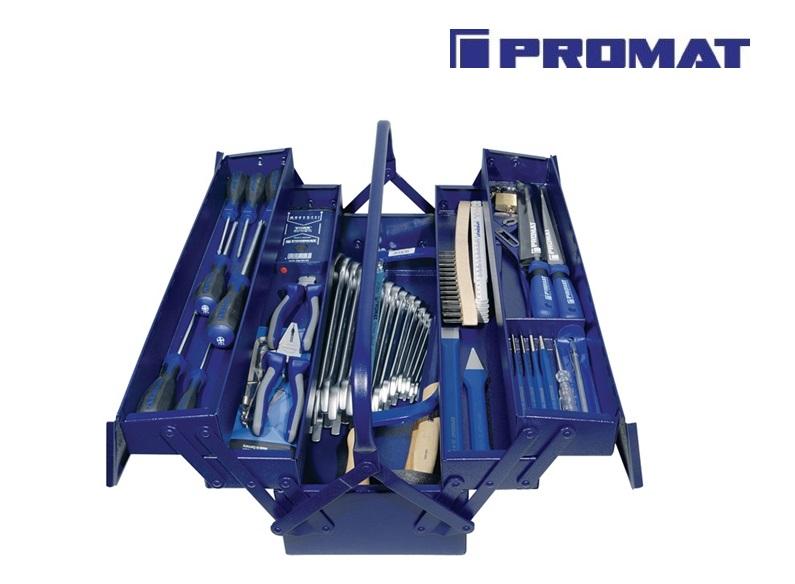 Promat gereedschapsset in kist 60-delig | DKMTools - DKM Tools