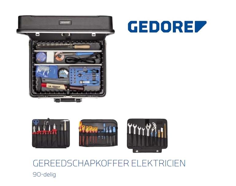 Gedore 1090 GereedschapsKoffer eleKtricien | DKMTools - DKM Tools