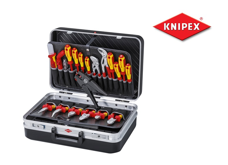 Knipex Gereedschapskoffer Elektro 20-delig | DKMTools - DKM Tools