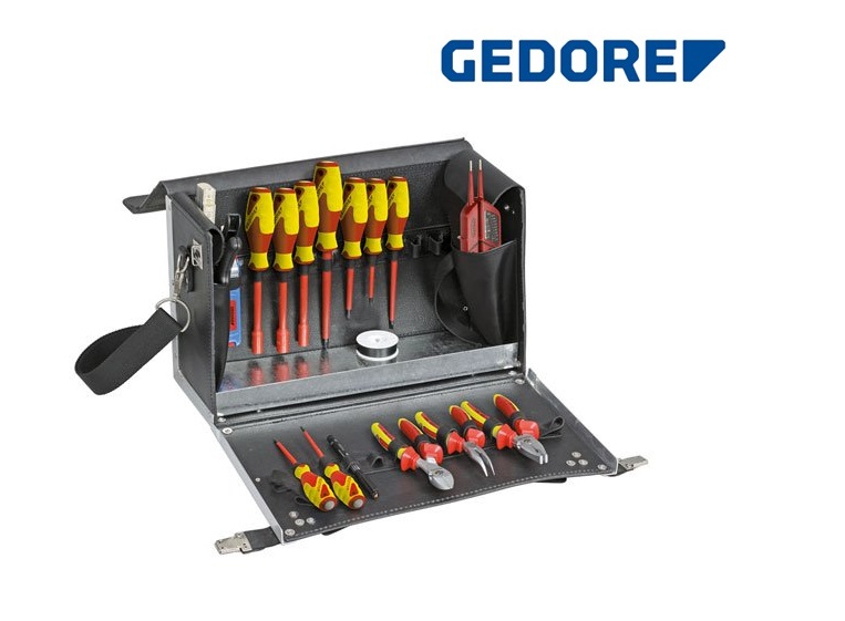 Gedore 1091 GereedschapsKoffer eleKtricien | DKMTools - DKM Tools