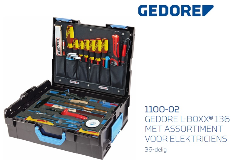 Gedore 1100-02 L-Boxx 136 | DKMTools - DKM Tools