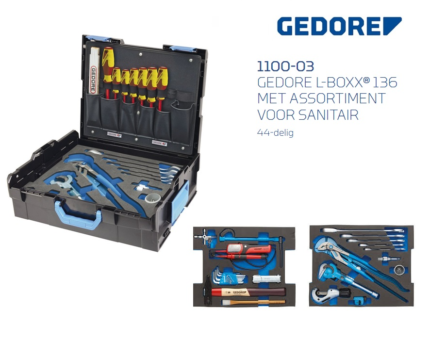Gedore 1100-03 Sortimo L-BOXX 136 | DKMTools - DKM Tools