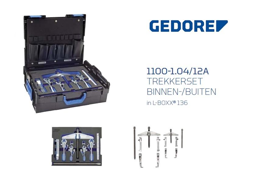 Gedore L-BOXX 1100-1.04-12A Trekkerset | DKMTools - DKM Tools