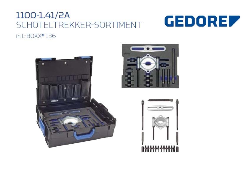 Gedore L-BOXX 1100-1.41-2A Schoteltrekker | DKMTools - DKM Tools