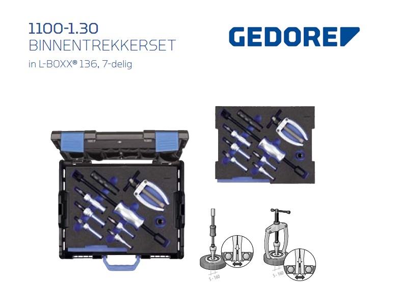 Gedore L-BOXX 1100-1.30 Binnentrekkerset | DKMTools - DKM Tools