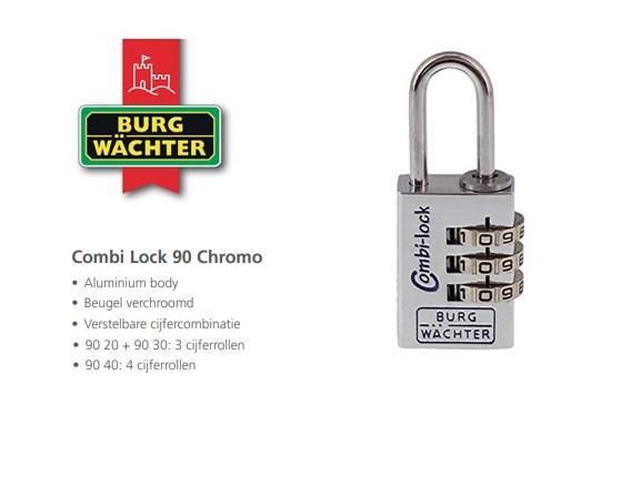 Combi Lock 90 Chromo | DKMTools - DKM Tools