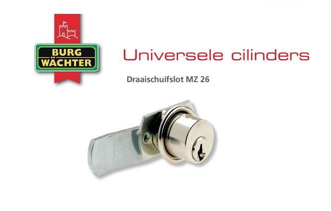 Draaischuifslot MZ 26 | DKMTools - DKM Tools