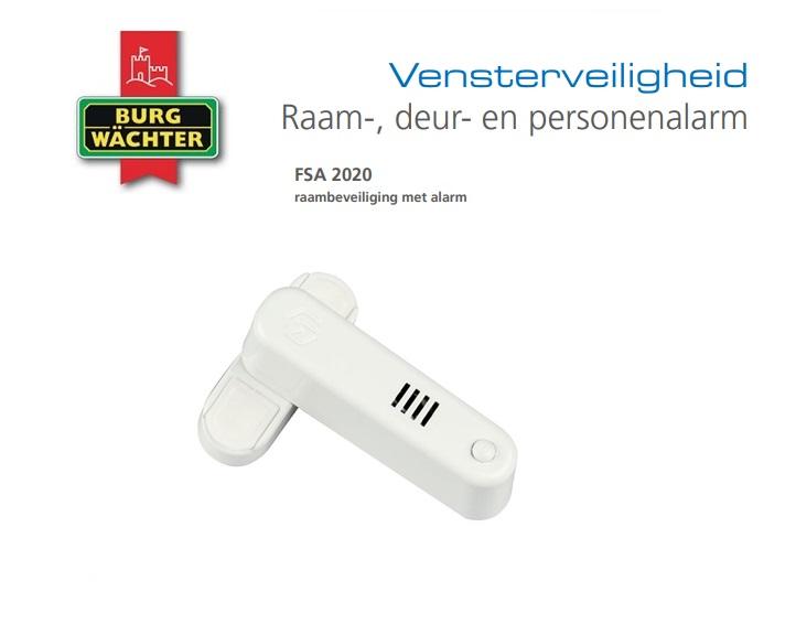 Raambeveiliging met alarm FSA | DKMTools - DKM Tools