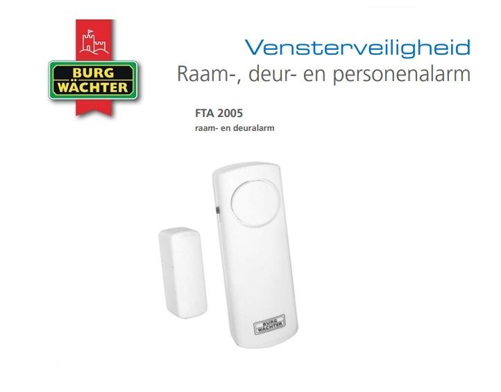 Raambeveiliging met alarm FTA 2005 | DKMTools - DKM Tools