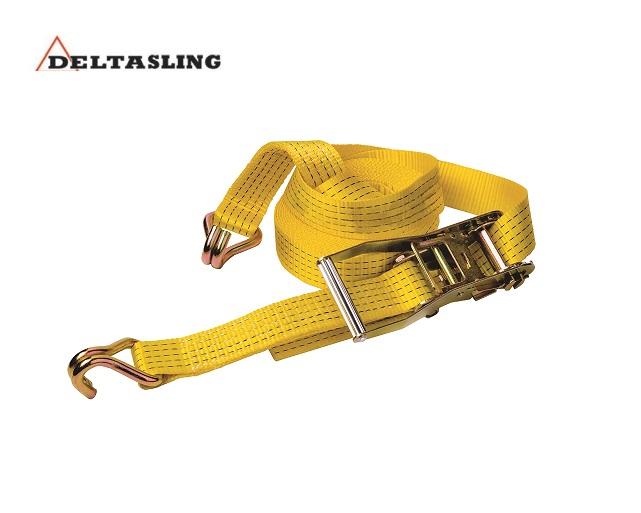 Spanband polyester 2-dlg met profielhaak 5000 daN   DKMTools - DKM Tools