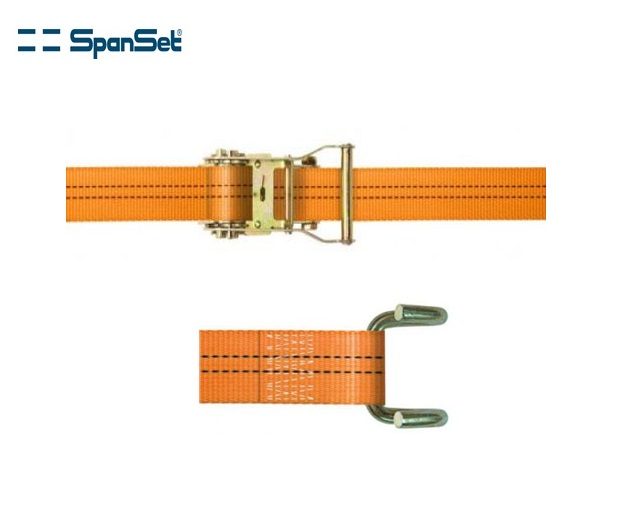Spanband polyester 2-dlg met raamhaak 4000 daN   DKMTools - DKM Tools