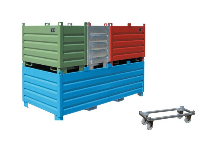 Inzamelcontainer systeem Bauer SBS | DKMTools - DKM Tools