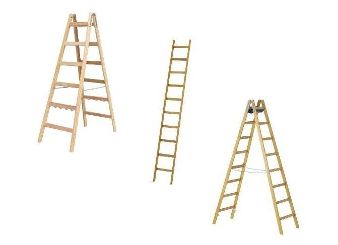 Houten ladders en trappen | DKMTools - DKM Tools