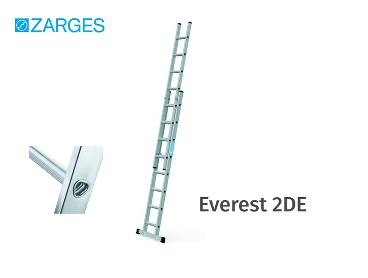 Everest 2DE opsteekladder 2-delig | DKMTools - DKM Tools