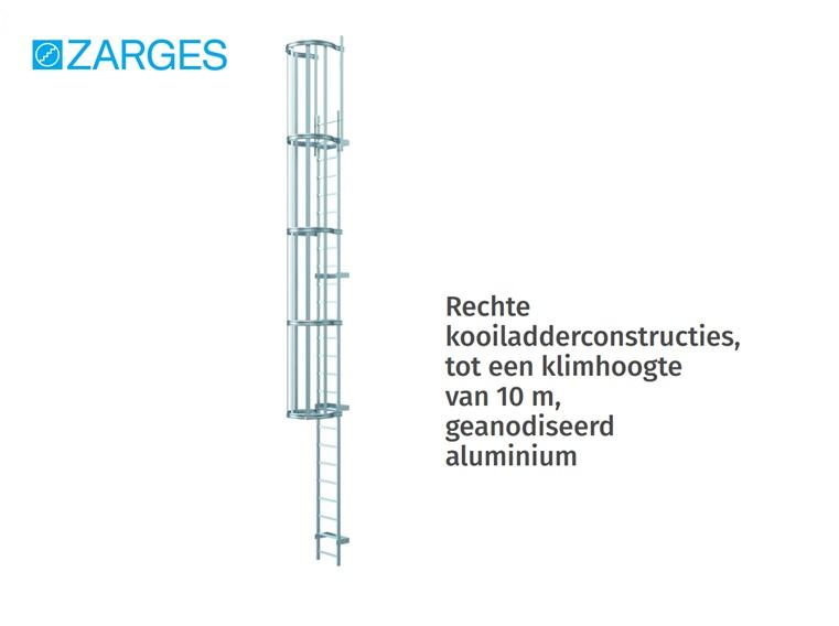 Kooiladder geanodiseerd aluminium | DKMTools - DKM Tools