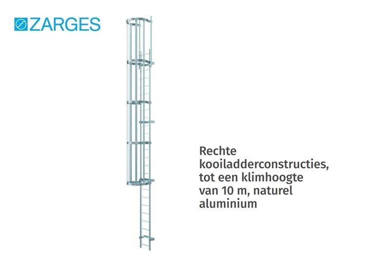 Kooiladder Aluminium naturel | DKMTools - DKM Tools